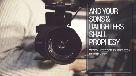 [Video] And Your Sons And Daughters Shall Prophesy