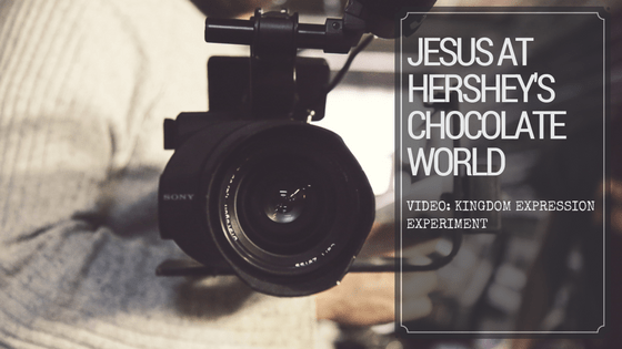 [Video] Jesus At Hershey Chocolate World