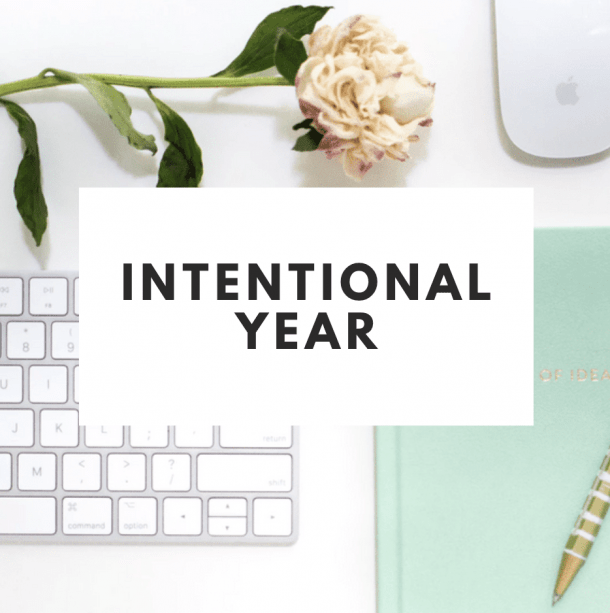 Intentional Year